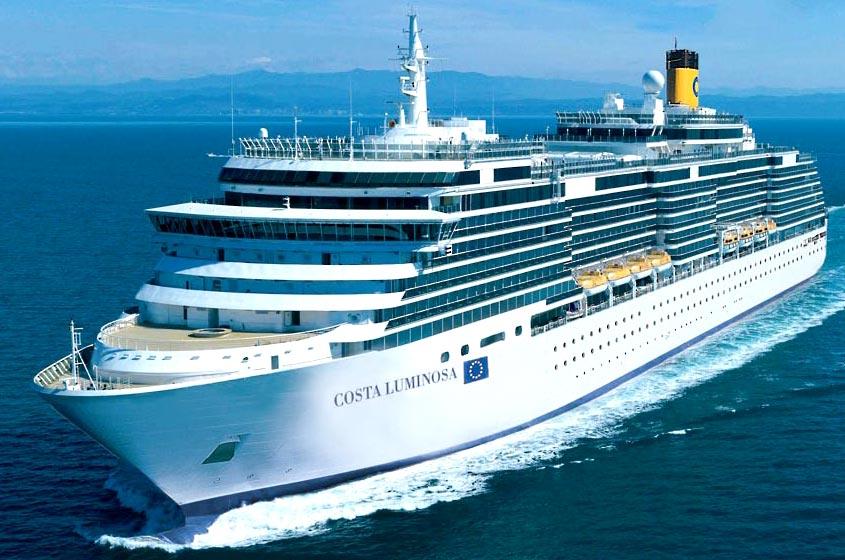 Scheda nave costa luminosa ticket costa for Costa deliziosa ponti